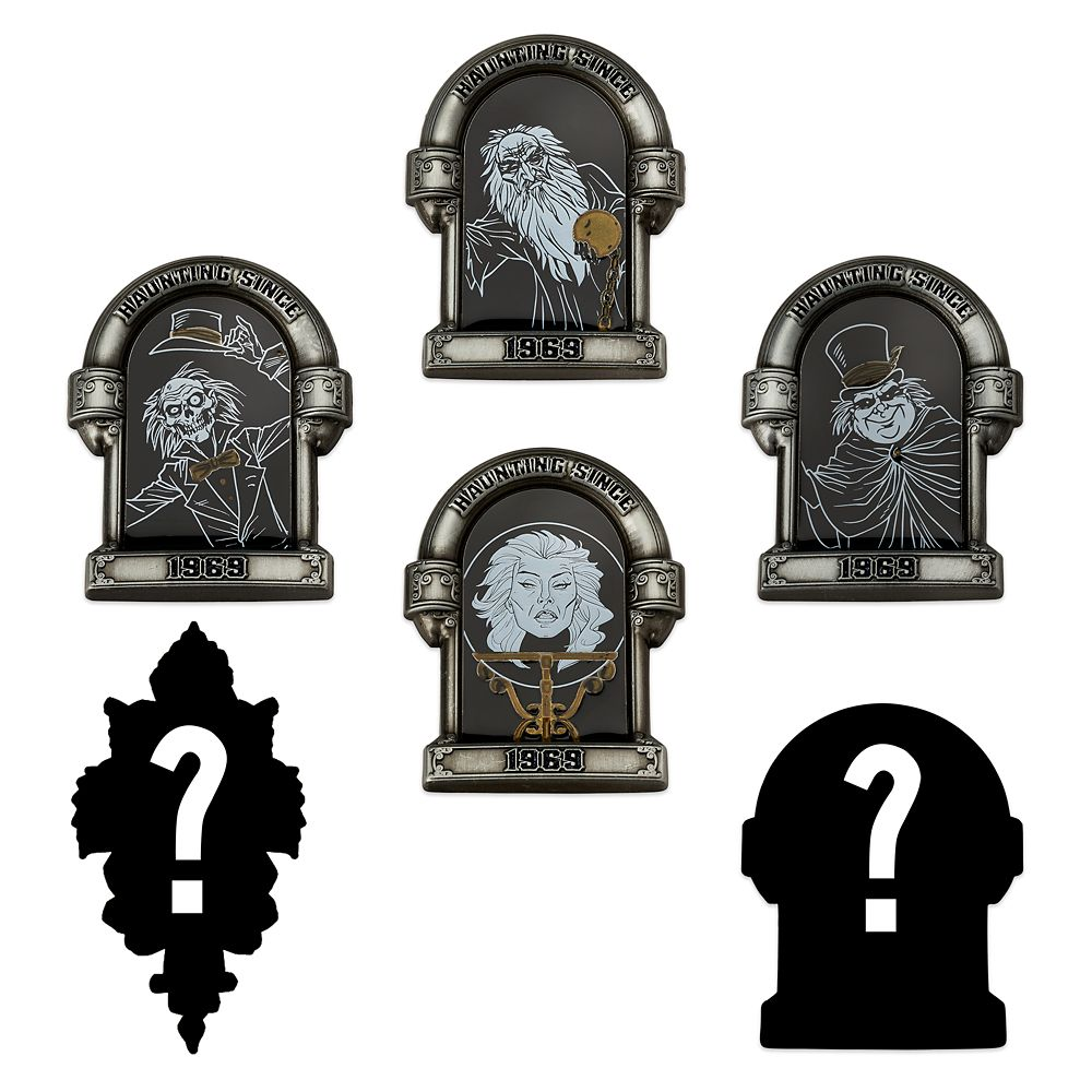 The Haunted Mansion Mystery Pin