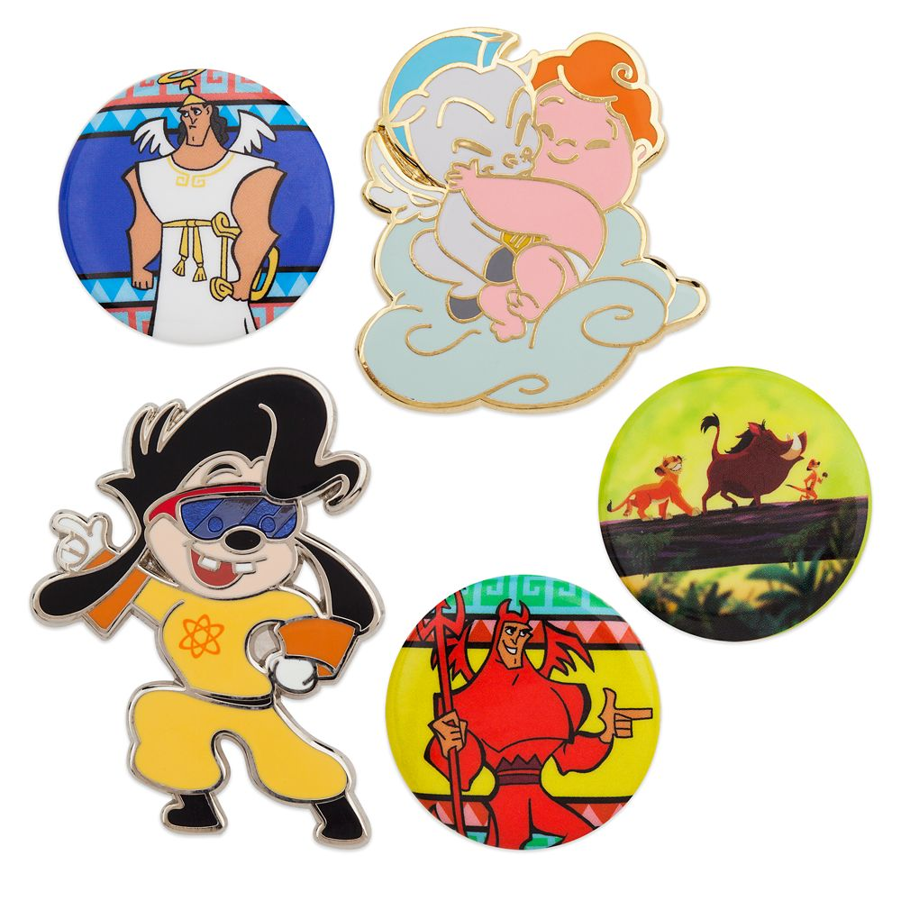 Oh My Disney Pin Set – 1990s