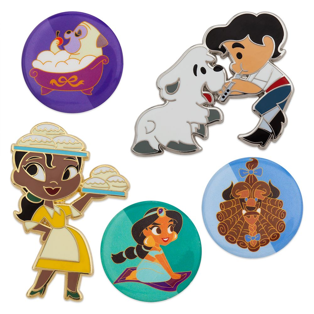 Oh My Disney Pin Set – Princess