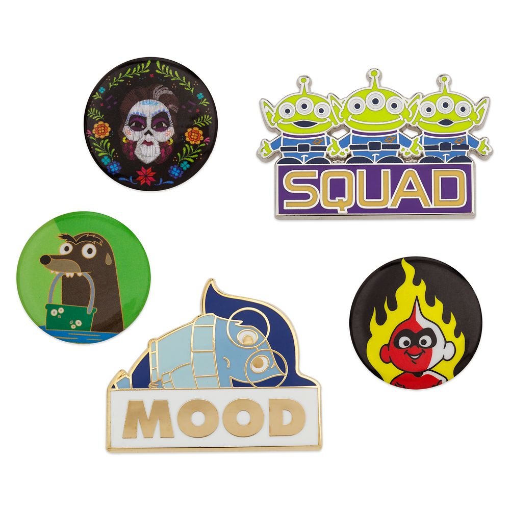 Oh My Disney Pin Set – Pixar