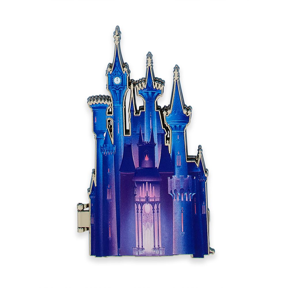 Cinderella Castle Pin – Disney Castle Collection – Limited Release