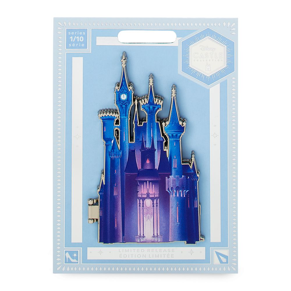 Cinderella Castle Pin – Disney Castle Collection – Limited Release