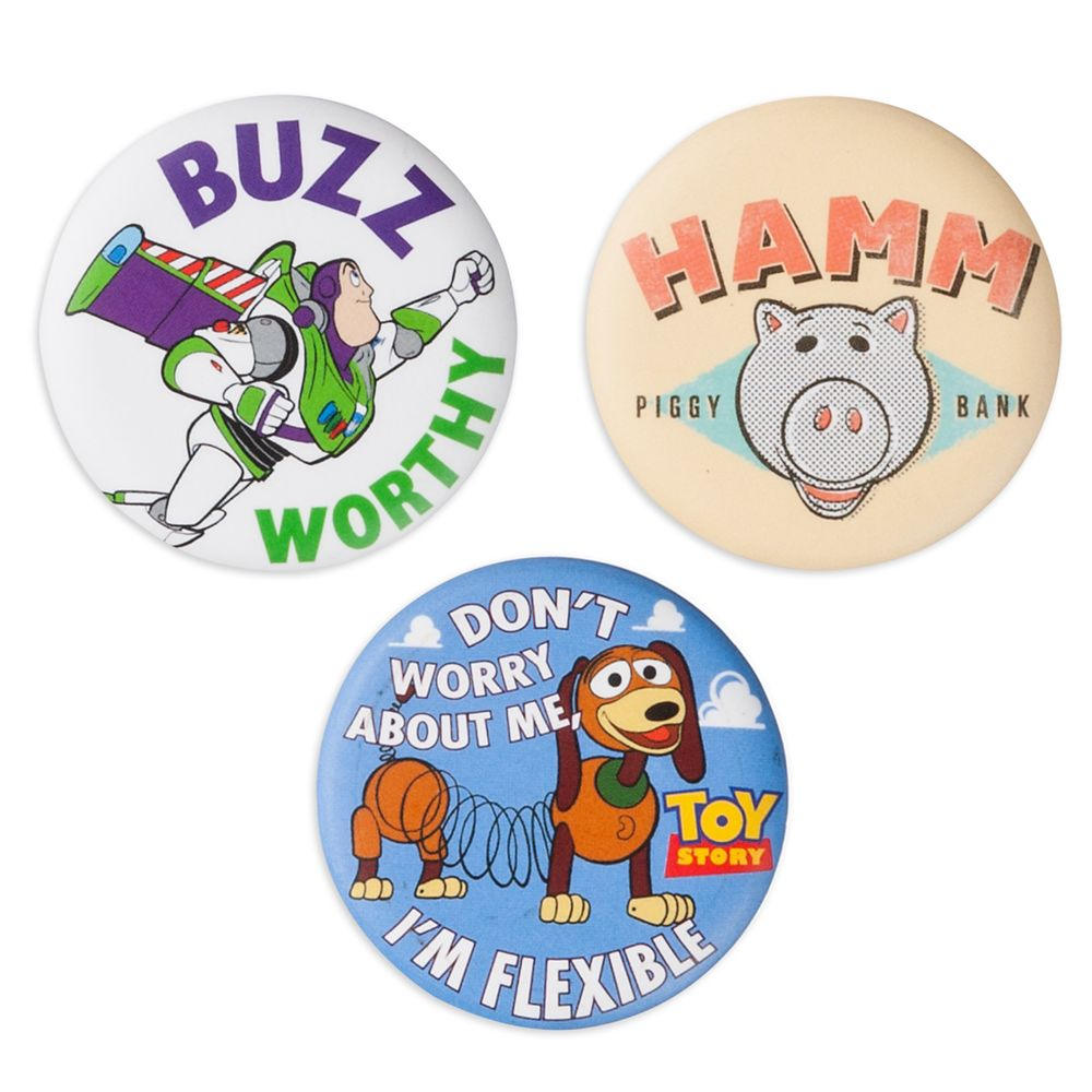 Toy Story Button Set Official shopDisney