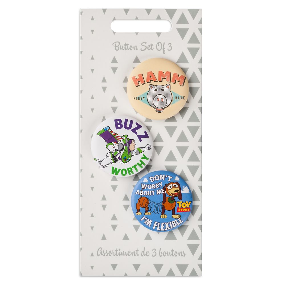 Toy Story Button Set