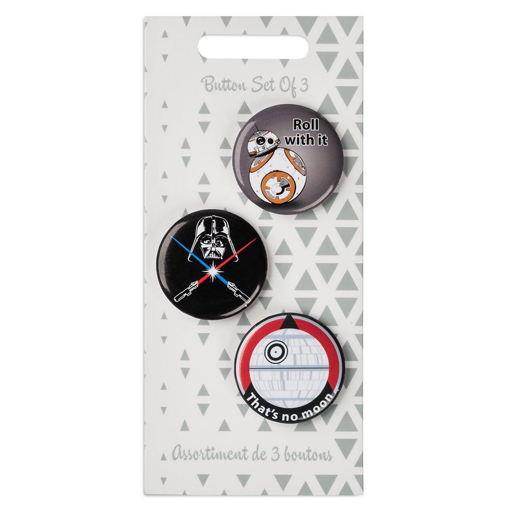 Star Wars Button Set
