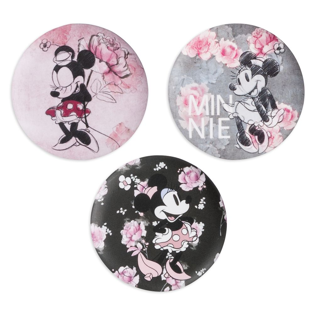 Minnie Mouse Button Set