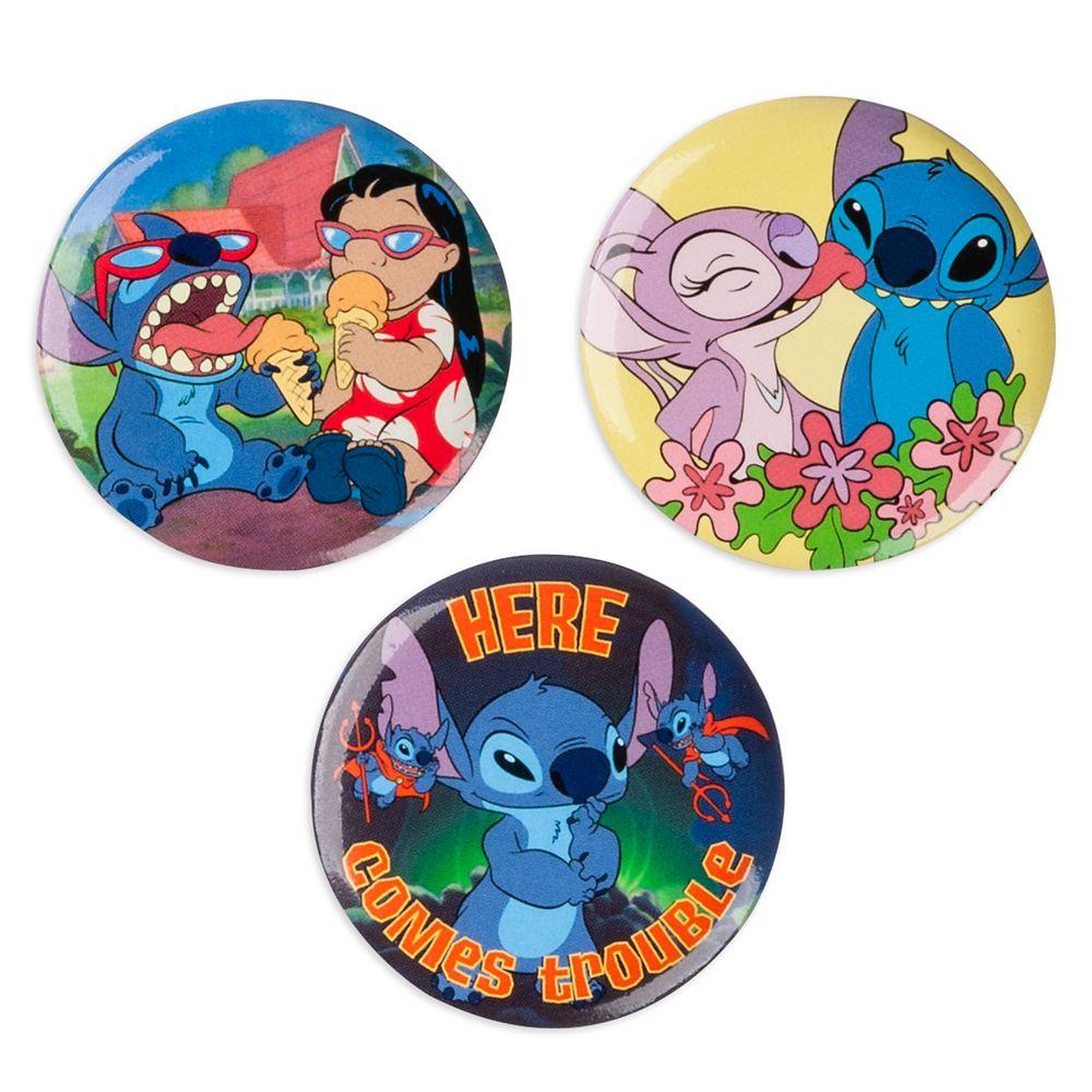 Lilo & Stitch Button Set