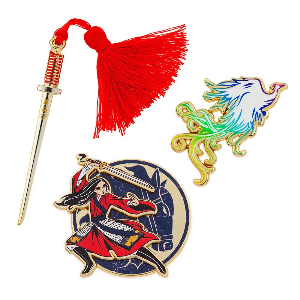 Mulan Pin Set – Live Action Film – Limited Edition