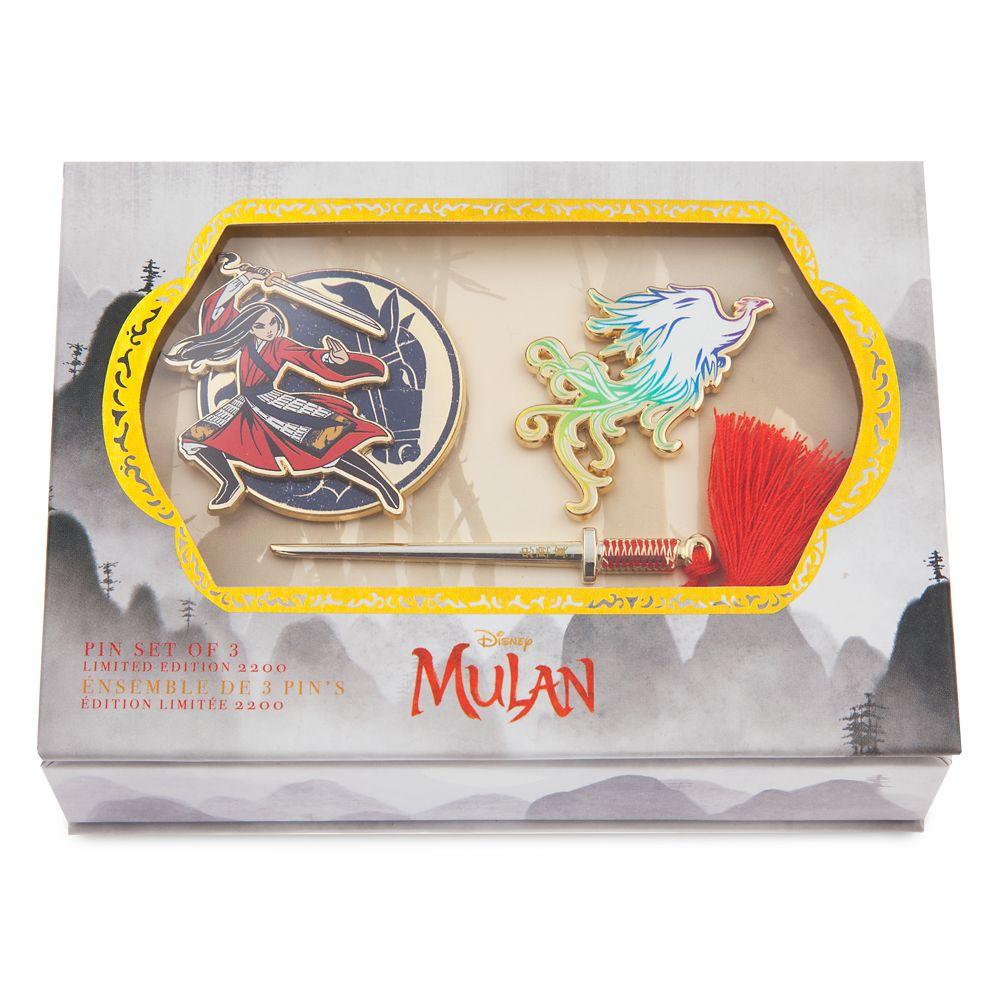 Mulan Pin Set – Live Action Film – Limited Edition