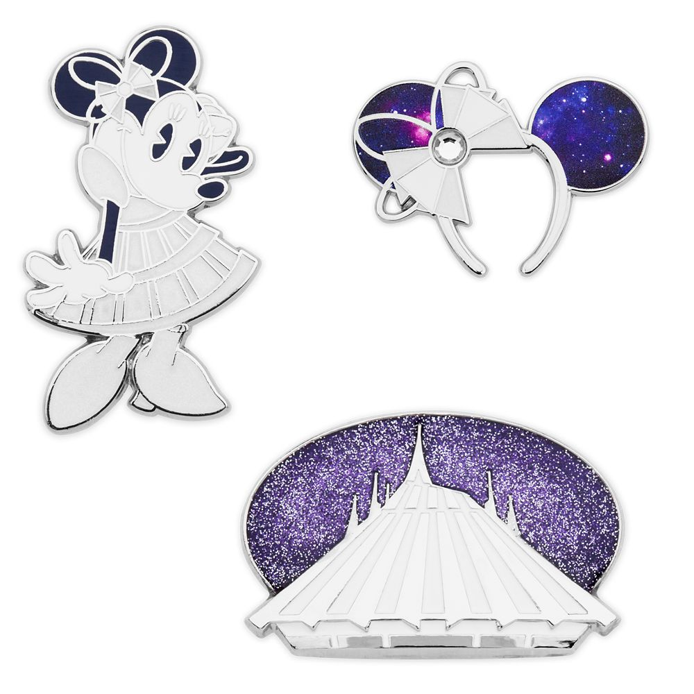 Minnie Mouse: The Main Attraction Pin Set – Space Mountain – Limited Release