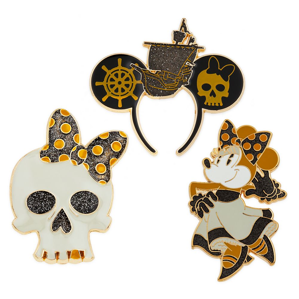 Minnie Mouse: The Main Attraction Pin Set – Pirates of the Caribbean – Limited Release