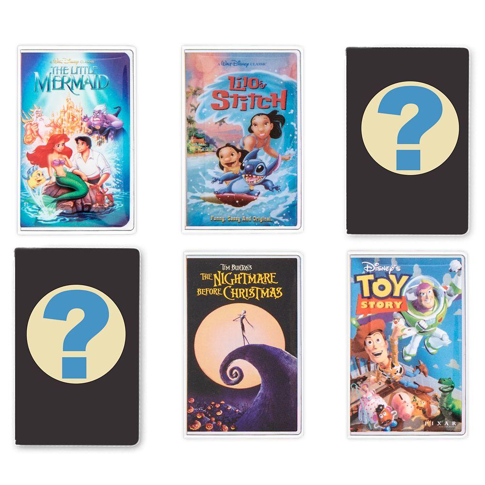 Walt Disney Home Video VHS Case Mystery Pin