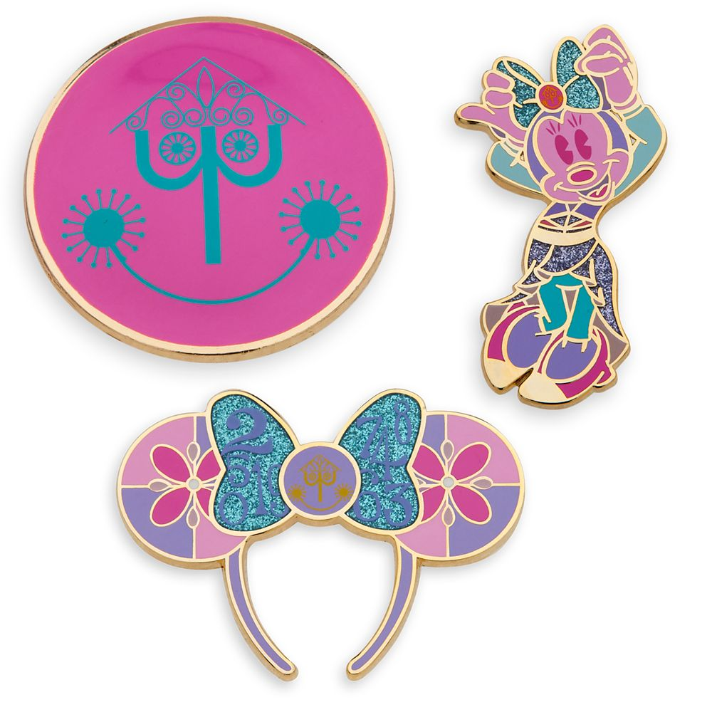 Minnie Mouse: The Main Attraction Pin Set – Disney it's a small world – Limited Release