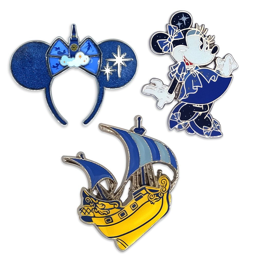 Minnie Mouse: The Main Attraction Pin Set – Peter Pan's Flight – Limited Release