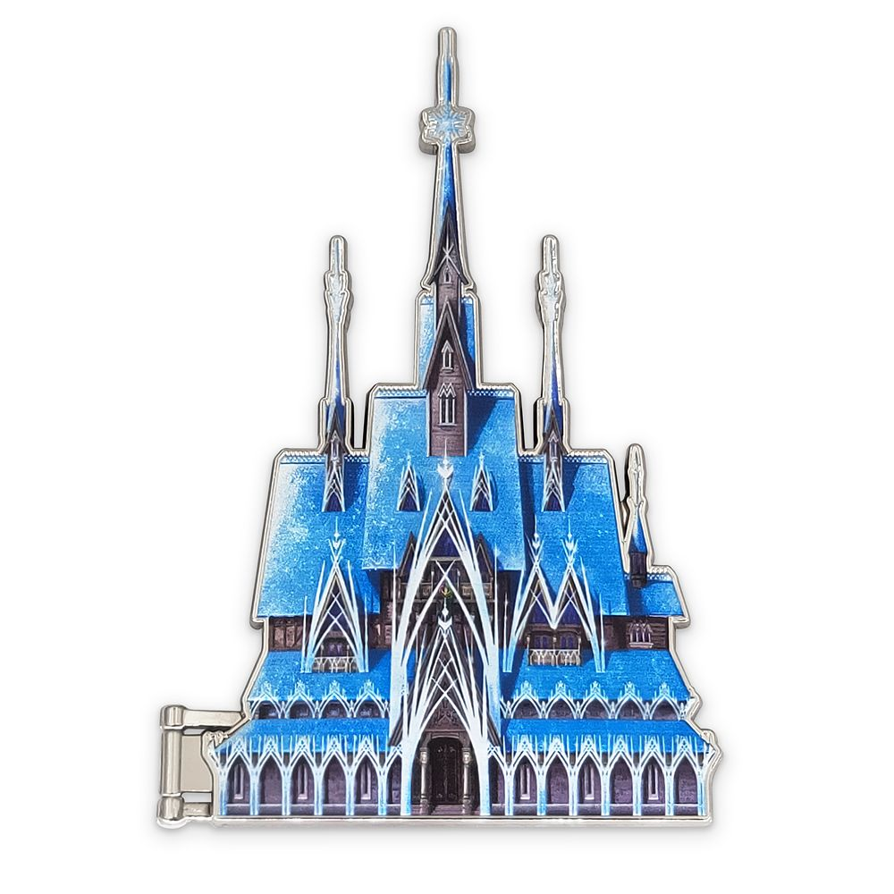 Frozen Castle Pin – Disney Castle Collection – Limited Release