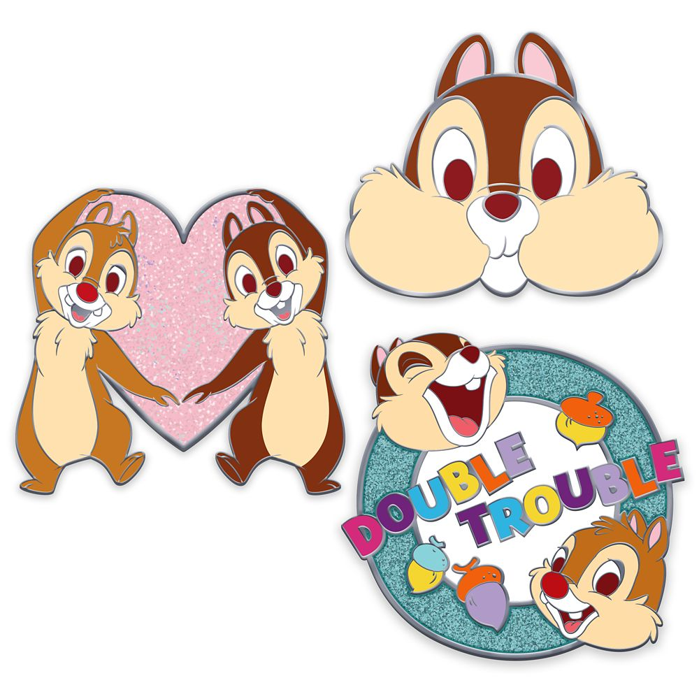 Chip 'N Dale Pin Set – Oh My Disney