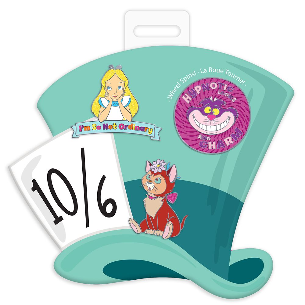 Alice in Wonderland Pin Set – Oh My Disney