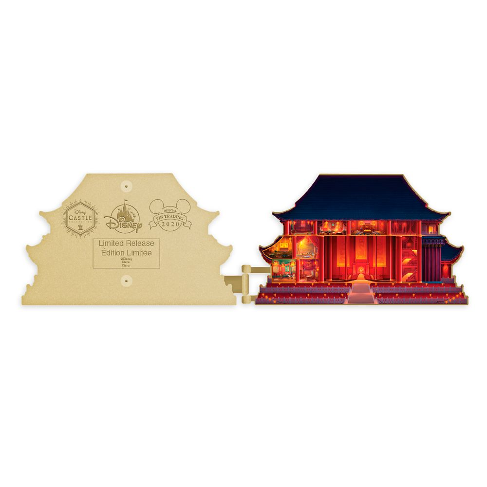 Mulan Imperial Palace Pin Disney Castle Collection Limited Release Shopdisney
