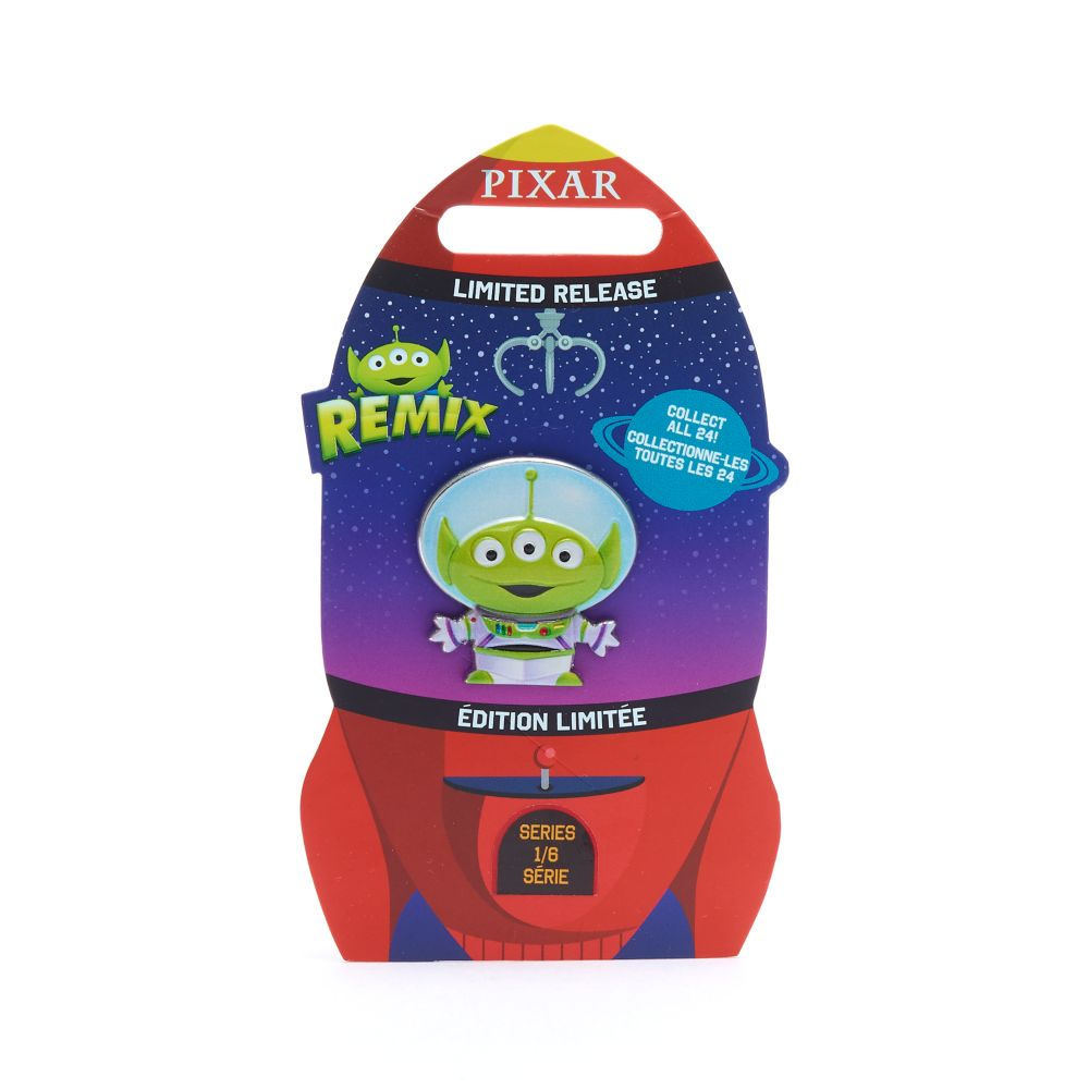 Toy Story Buzz Lightyear And Aliens Disney Trading Pin
