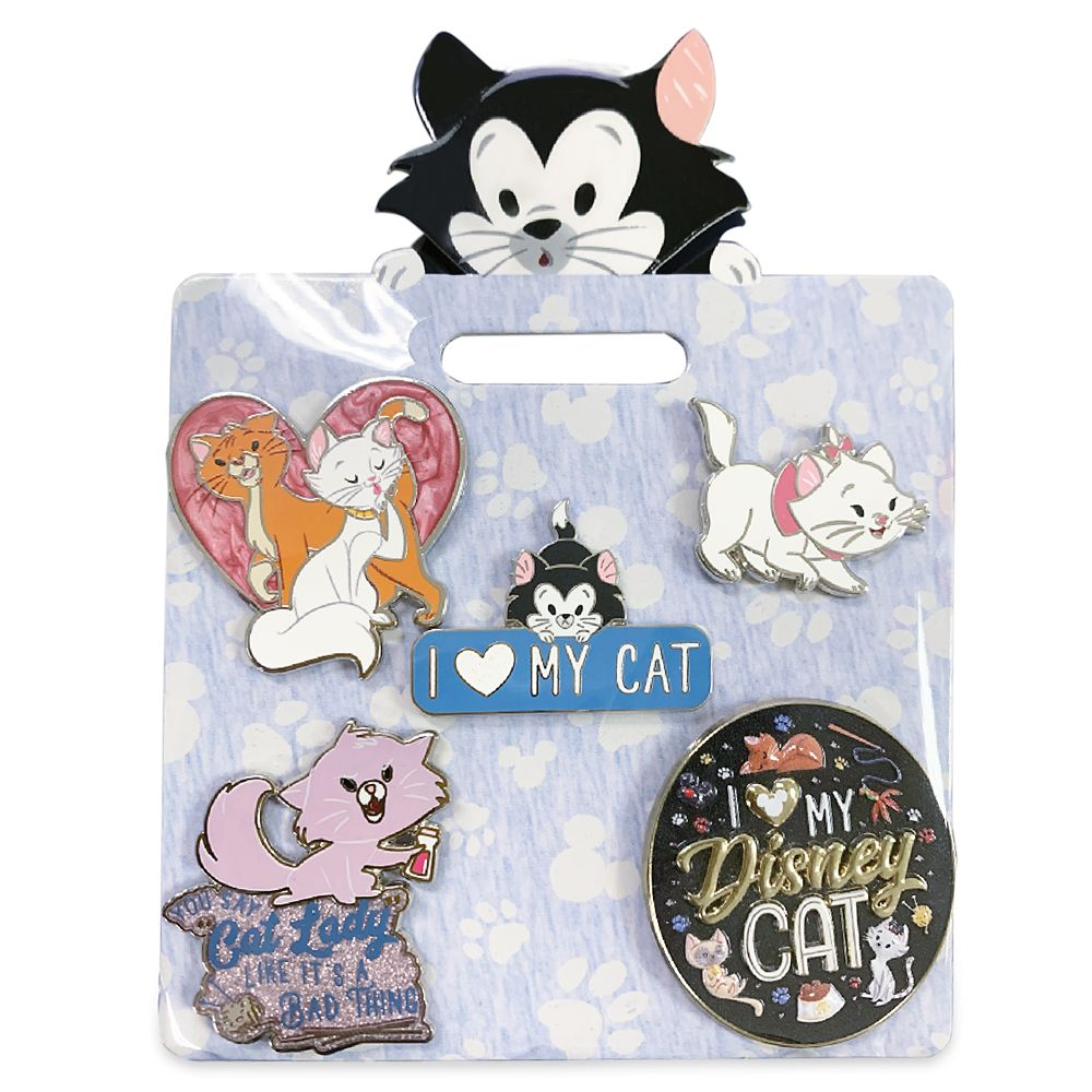 Disney Cats Pin Set