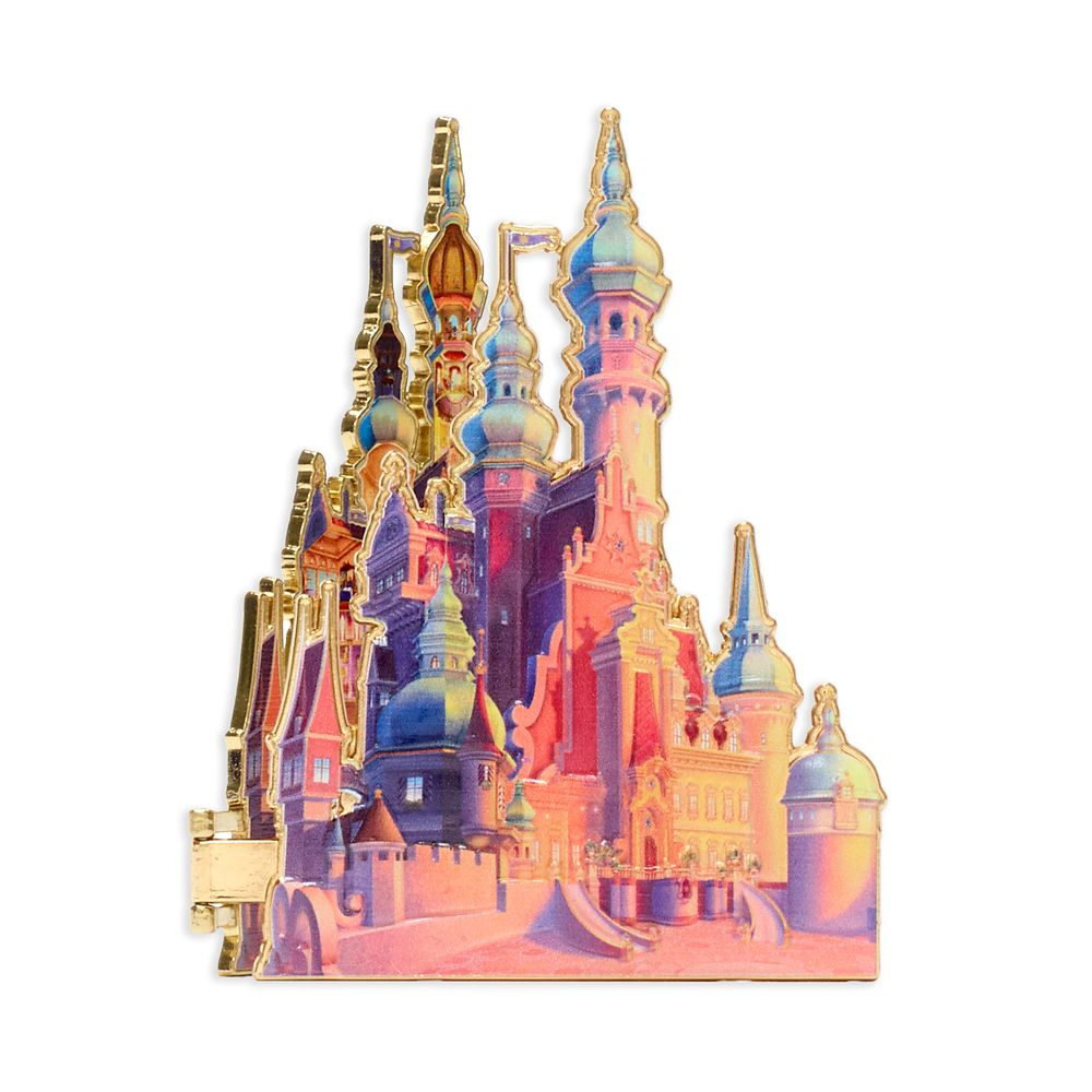 Rapunzel Castle Pin – Tangled – Disney Castle Collection – Limited Release