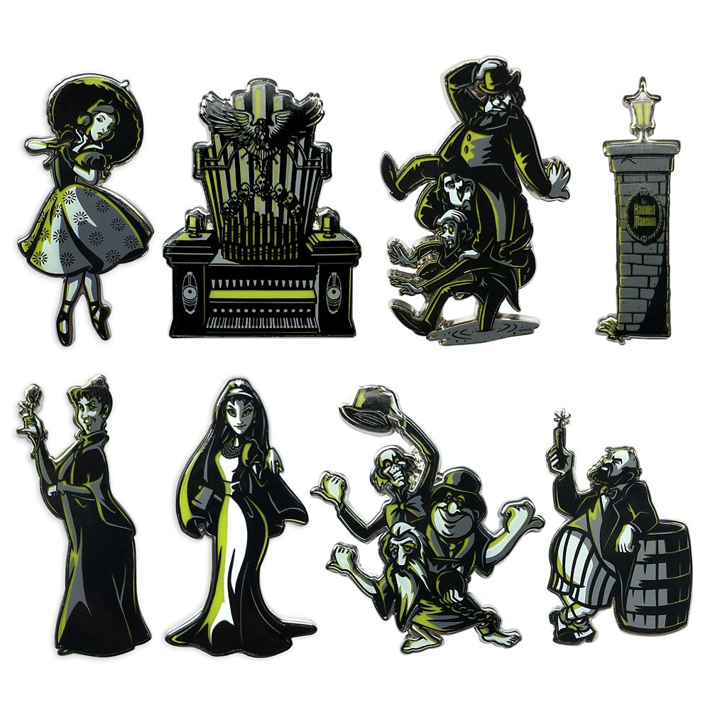 The Haunted Mansion Mystery Pin Set – Limited Release – 2-Pc.