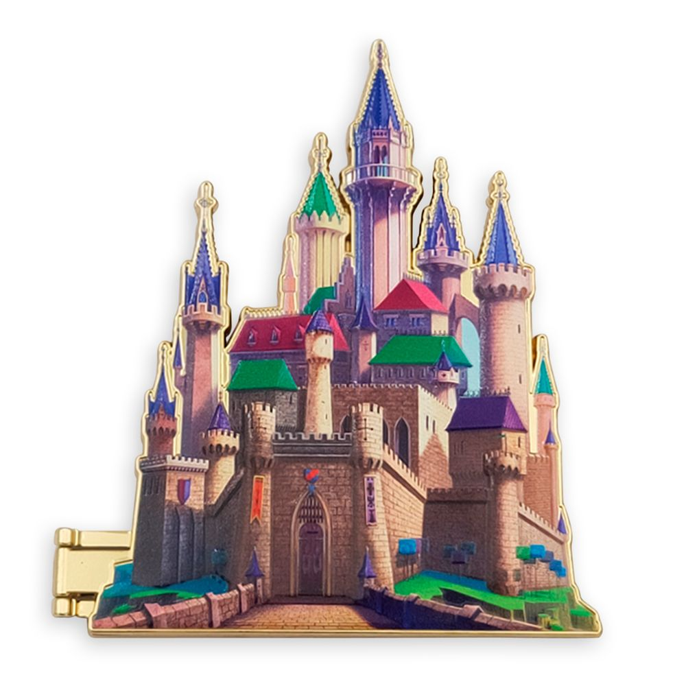 Aurora Castle Pin – Sleeping Beauty – Disney Castle Collection – Limited Release