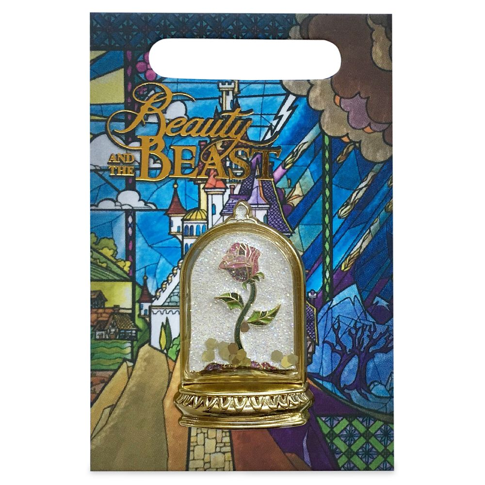 Enchanted Rose Flair Pin – Beauty and the Beast