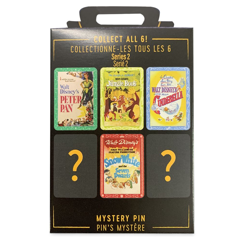 Disney Movie Poster Series 2 Mystery Pin