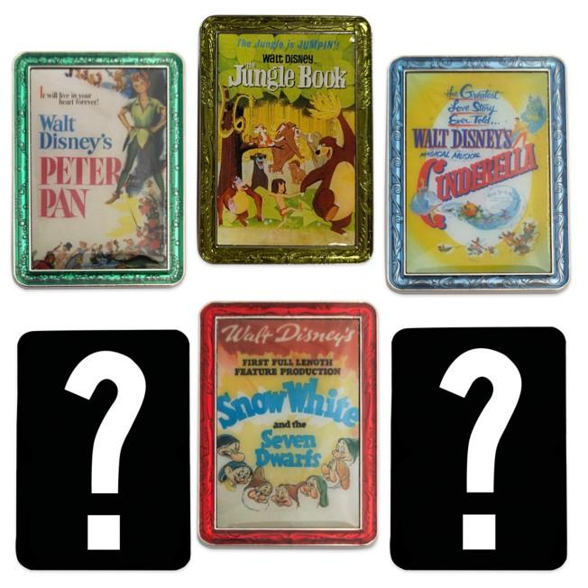 Disney Movie Poster Series 2 Mystery Pin