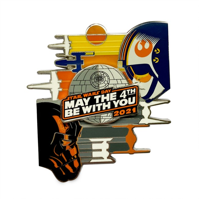 Star Wars Day ''May the 4th Be With You'' 2021 Pin – Limited Release