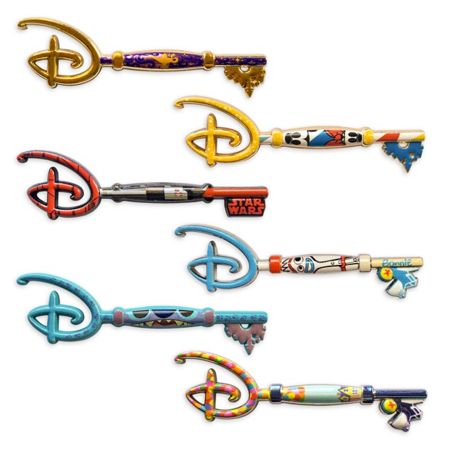 World of Disney Series 2 Mystery Key Pin