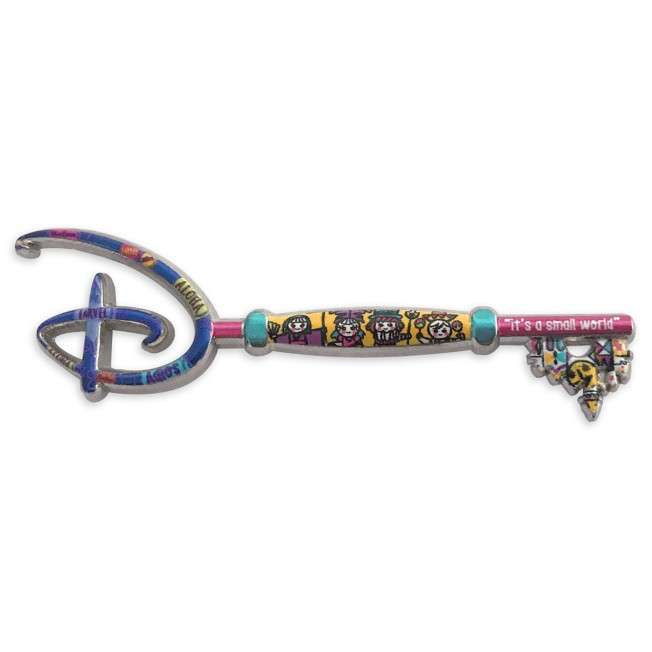 Disney it's a small world 55th Anniversary Collectible Key Pin – Special Edition