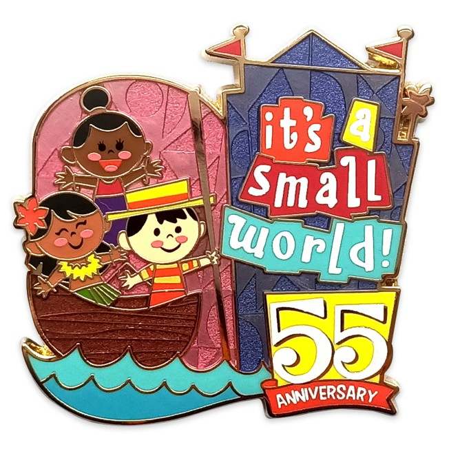 ''it's a small world'' 55th Anniversary Pin – Limited Release