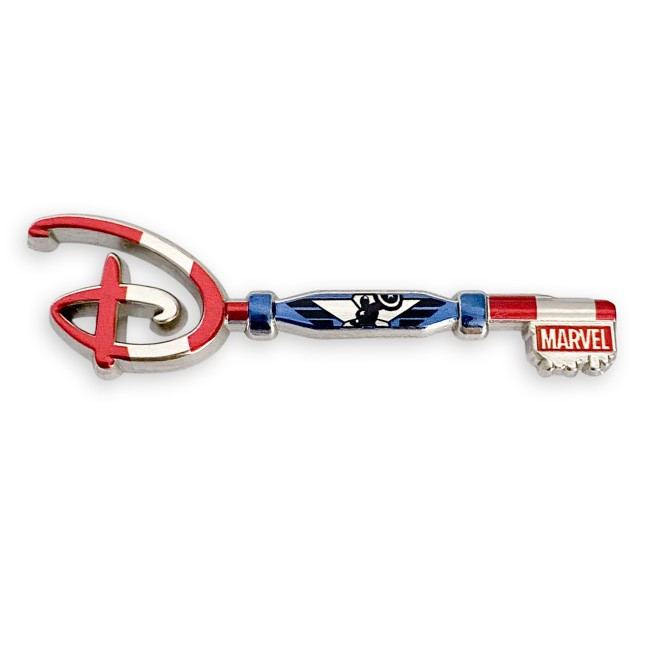Captain America 80th Anniversary Collectible Key Pin – Special Edition