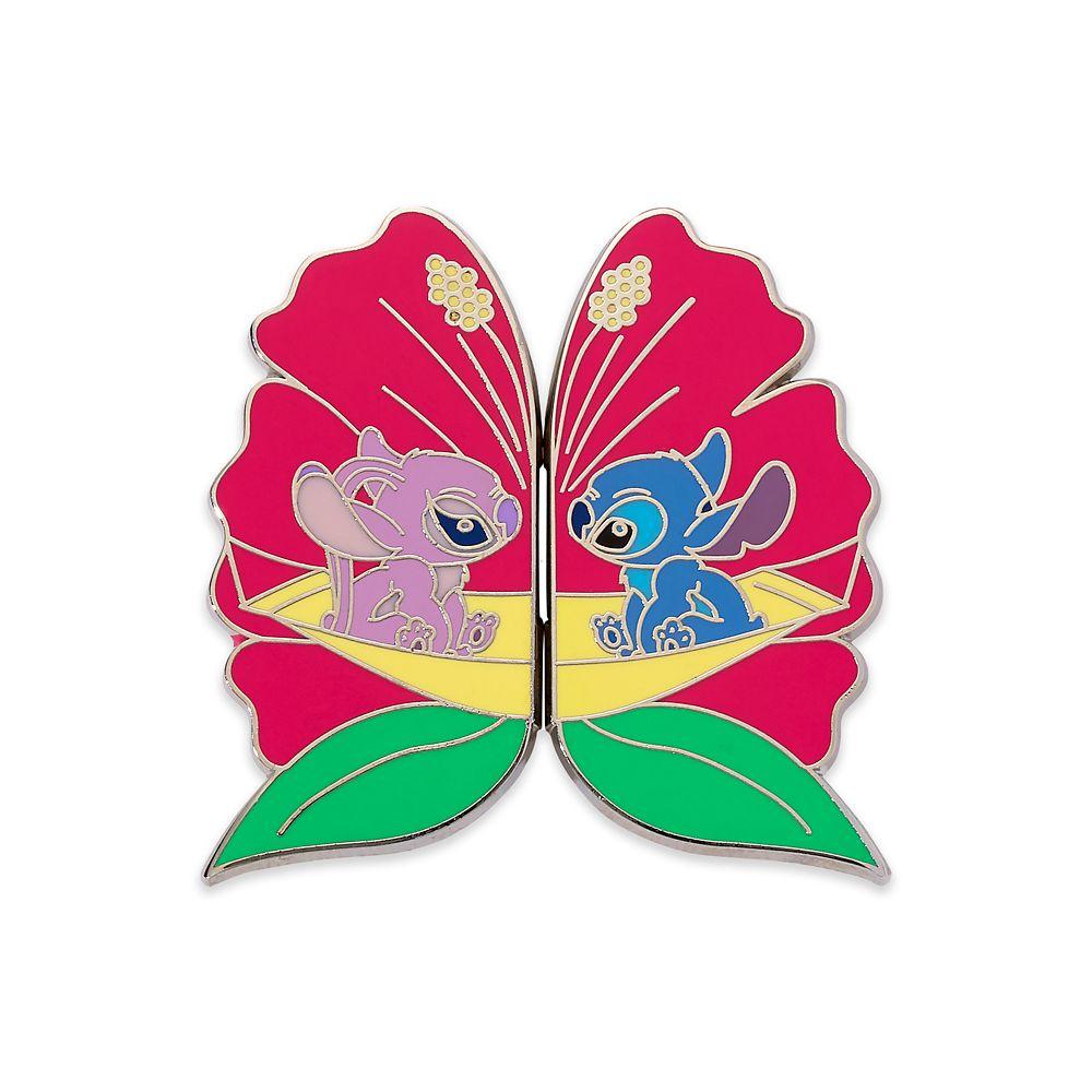 Stitch and Angel Couples Pin Set