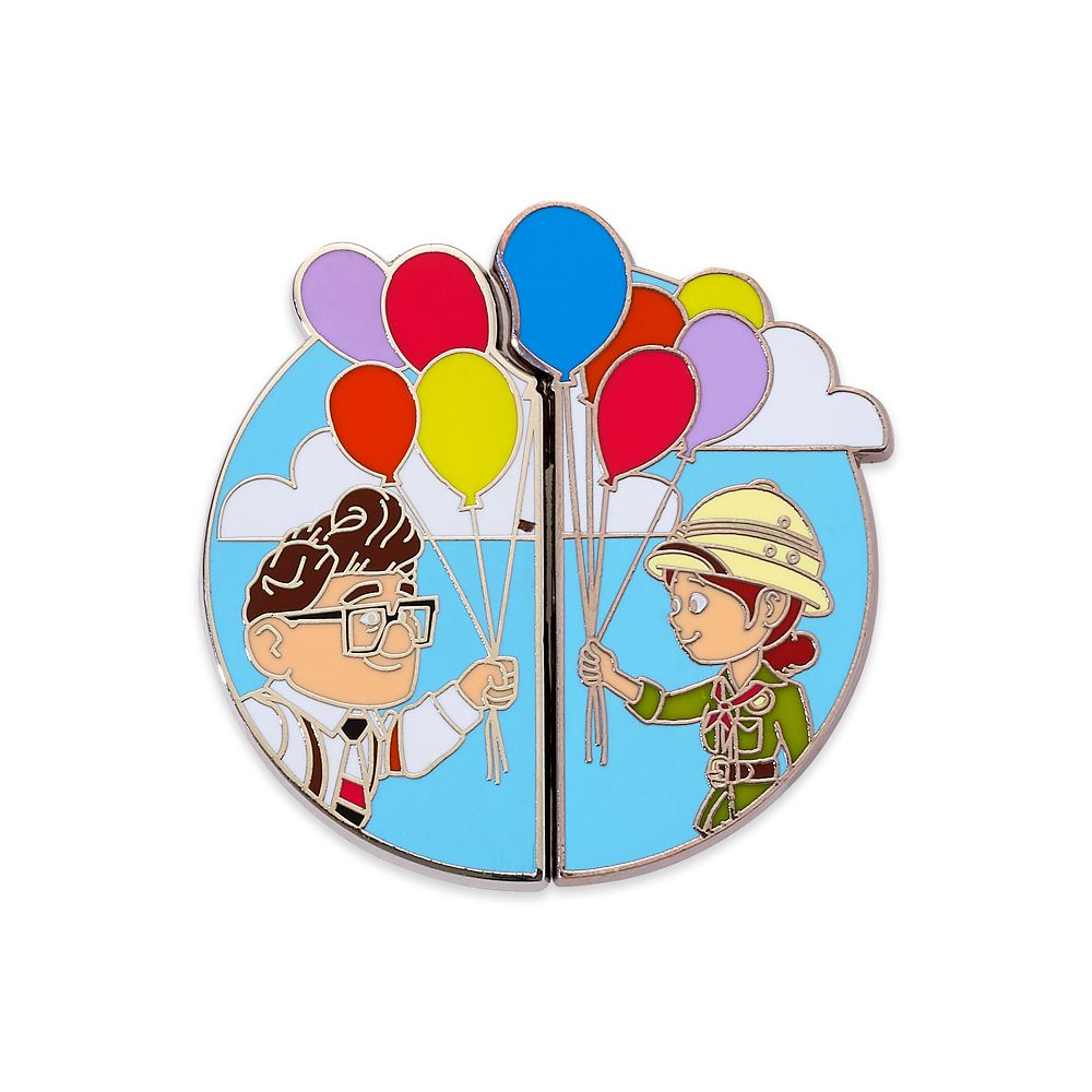 Carl Fredricksen and Ellie Couples Pin Set – Up