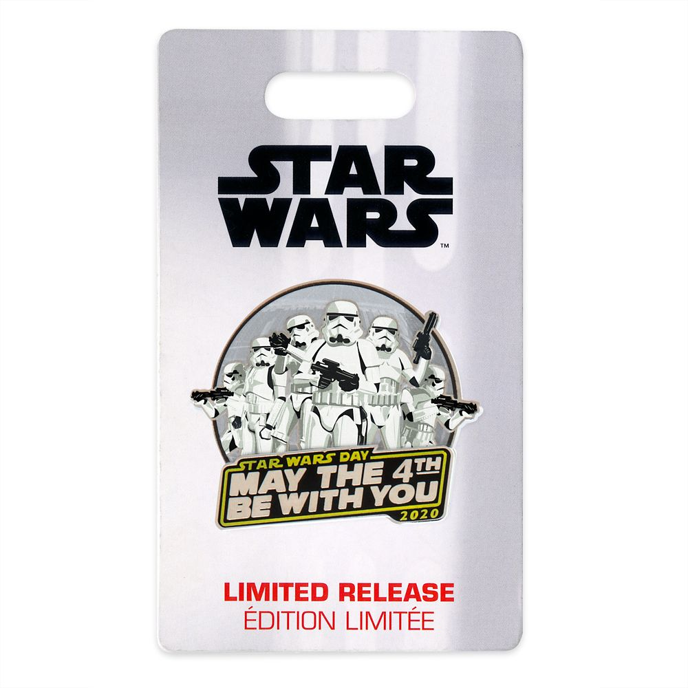 Star Wars Day: ''May The 4th Be With You'' Pin 2020 – Limited Release