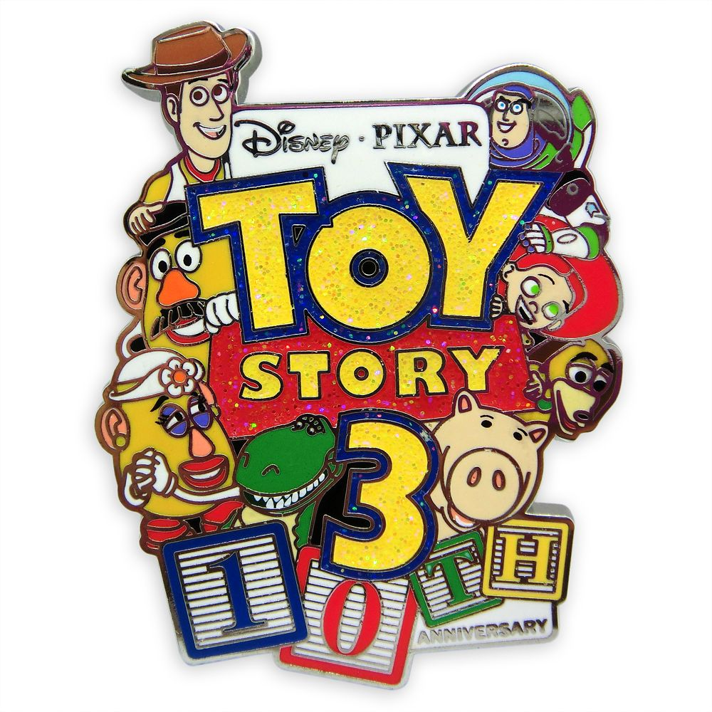 Toy Story 3 Pin – 10th Anniversary – Limited Release