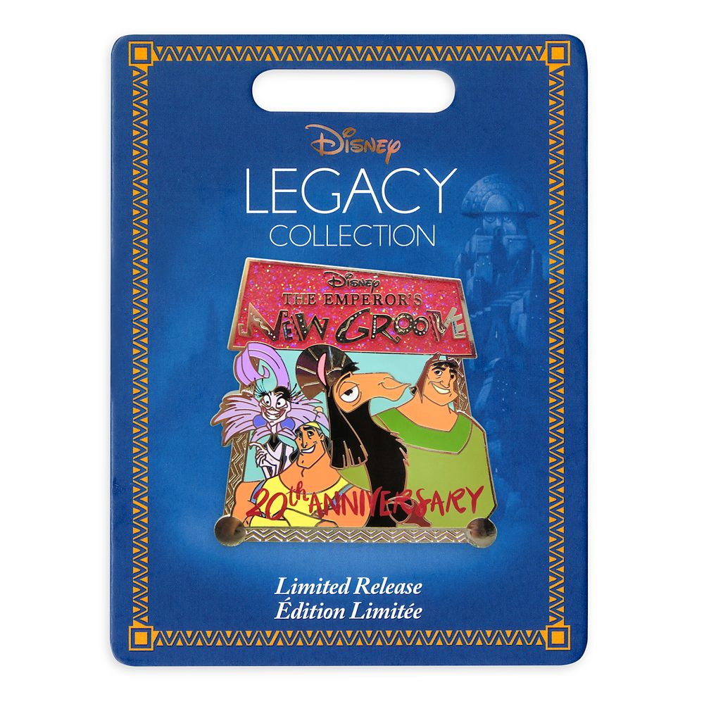 The Emperor's New Groove Pin – 20th Anniversary – Limited Release