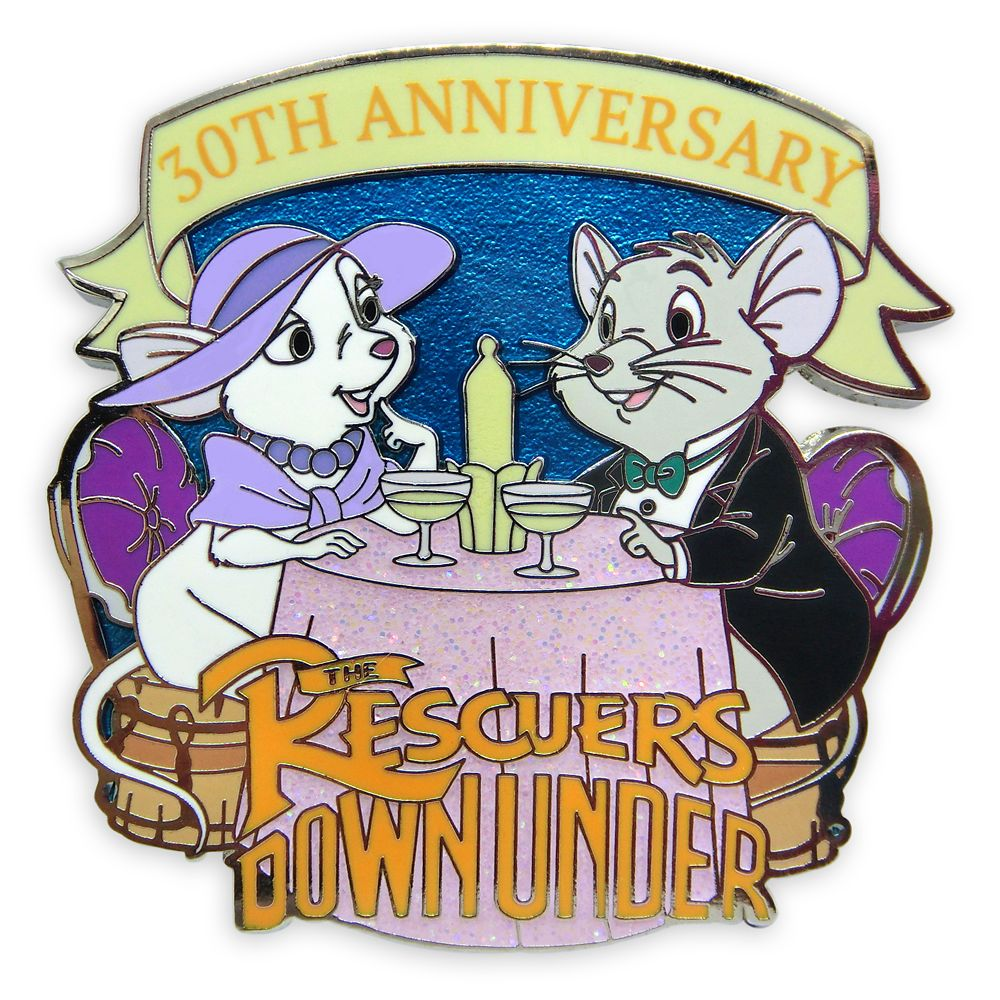The Rescuers Down Under Pin – 30th Anniversary – Limited Release