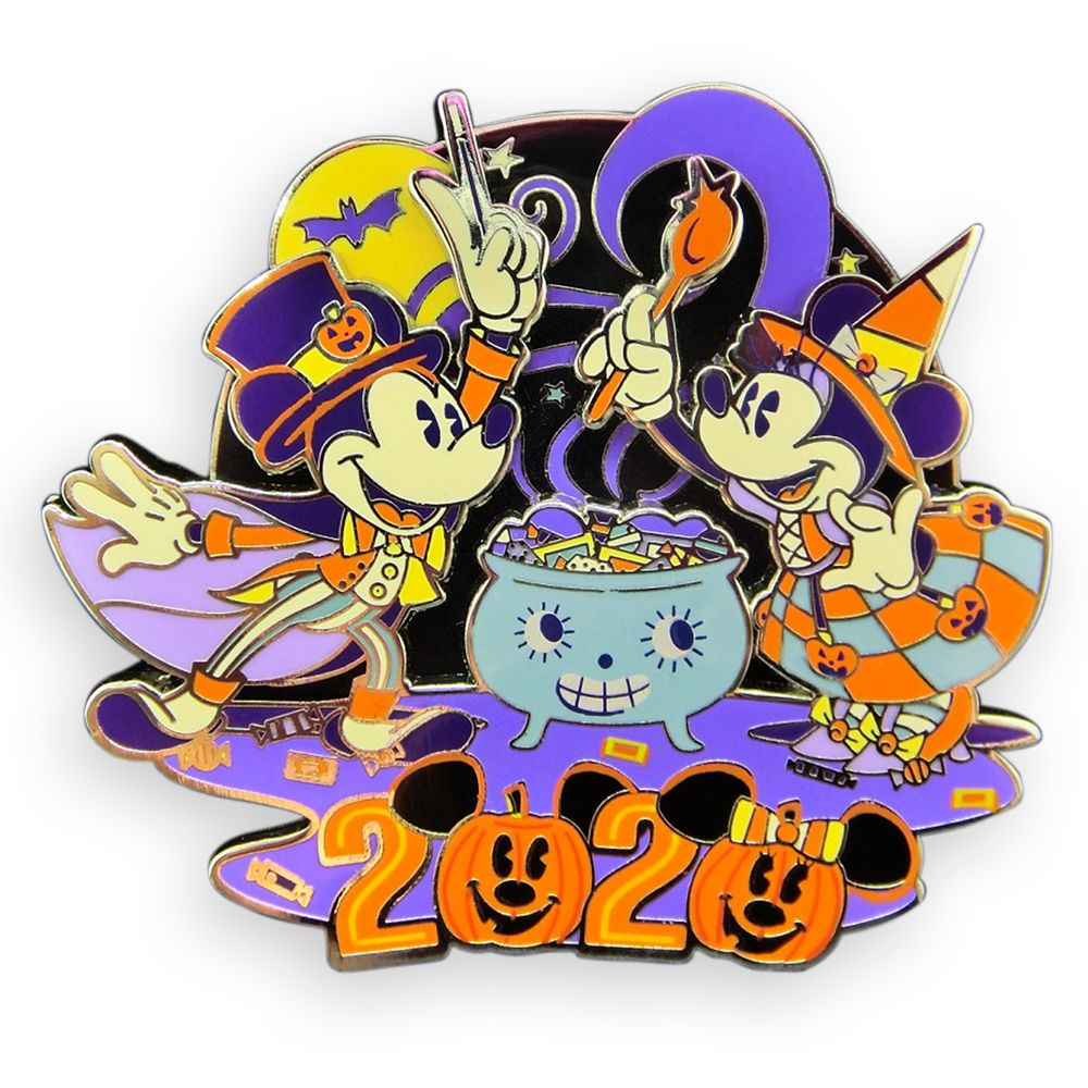 Donald Duck Halloween Trading Pin 2020 Mickey and Minnie Mouse Tricks and Treats Pin – Halloween 2020
