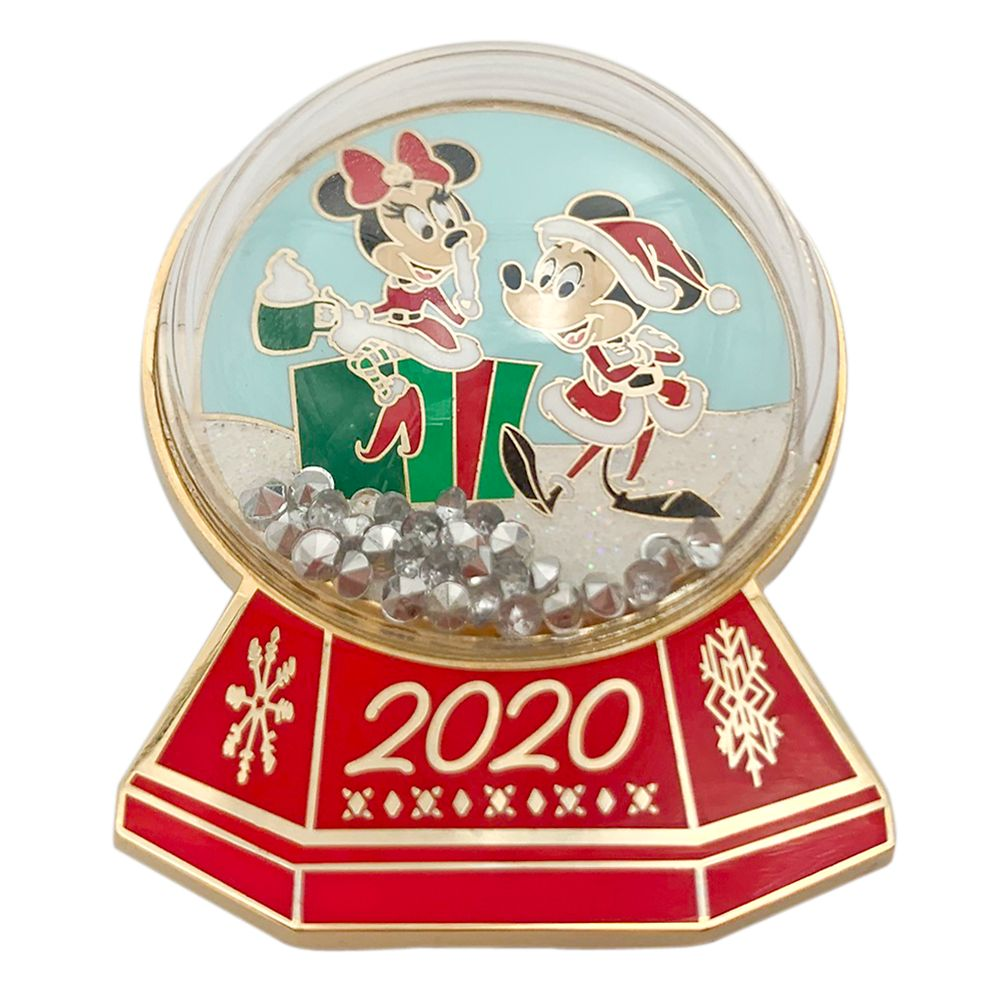 Mickey and Minnie Mouse Holiday 2020 Pin – Limited Edition