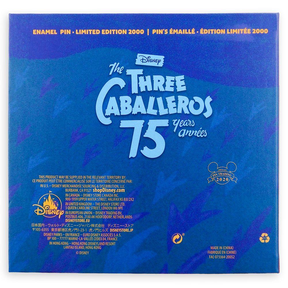 The Three Caballeros 75th Anniversary Jumbo Pin – Limited Edition