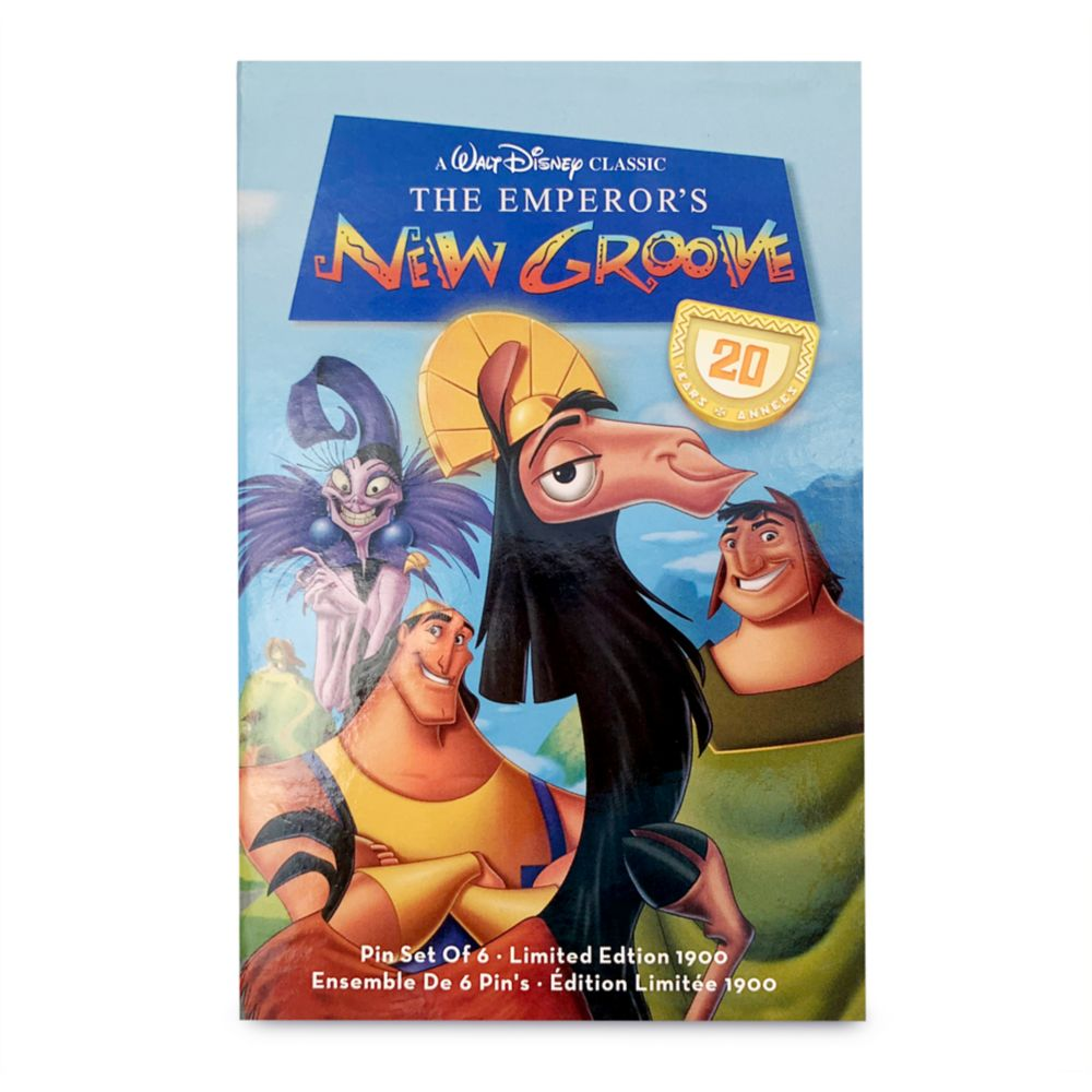 The Emperor's New Groove 20th Anniversary Pin Set – Limited Edition
