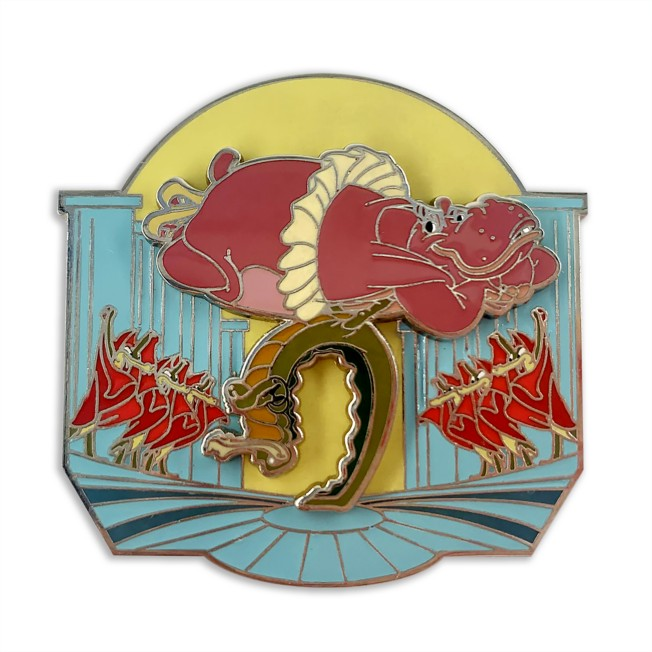 Hyacinth Hippo and Ben Ali-Gator Pin – Fantasia 80th Anniversary – Limited Release