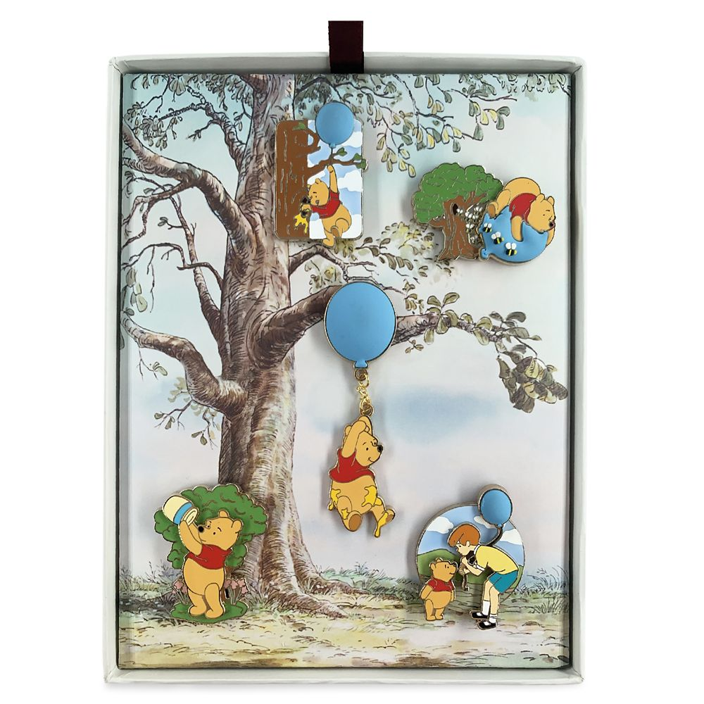 Winnie the Pooh Anniversary Pin Set – Limited Edition