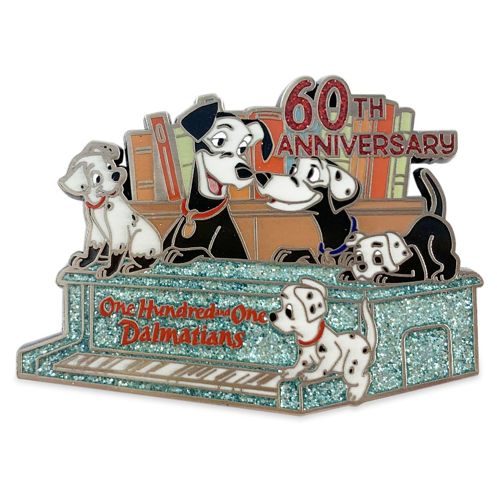 101 Dalmatians Pin – 60th Anniversary – Limited Release