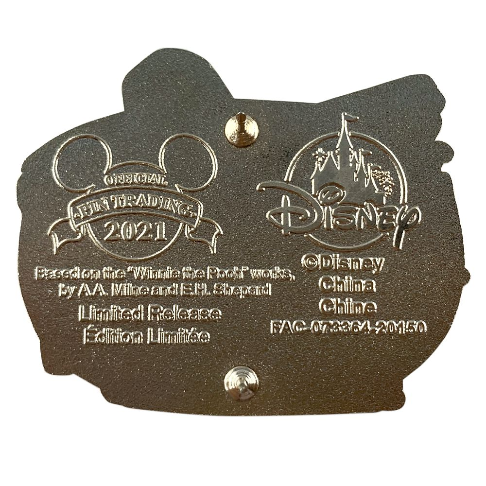 Winnie the Pooh Anniversary Pin – Limited Release