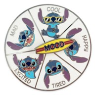 Stitch Flair Spinner Pin